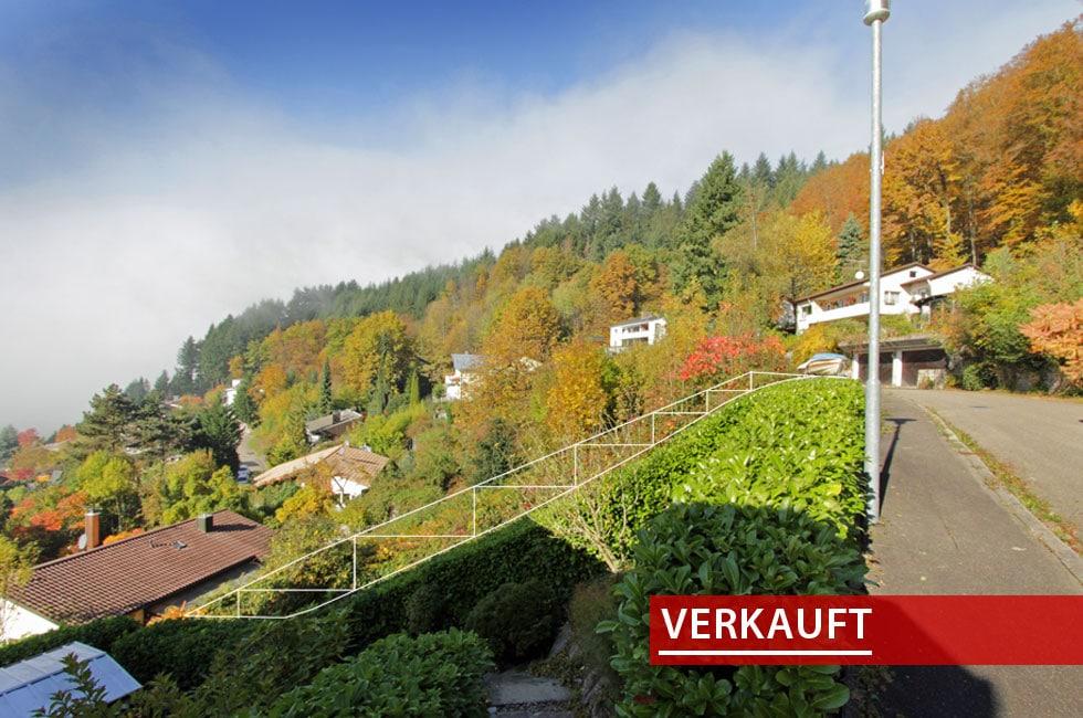 Grundstück Bergach verkauft