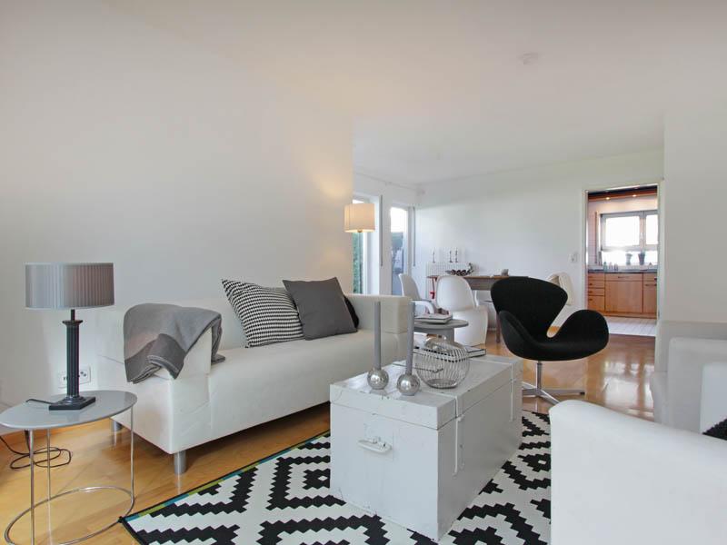 Homestaging Referenz Doppelhaus Wohnbereich