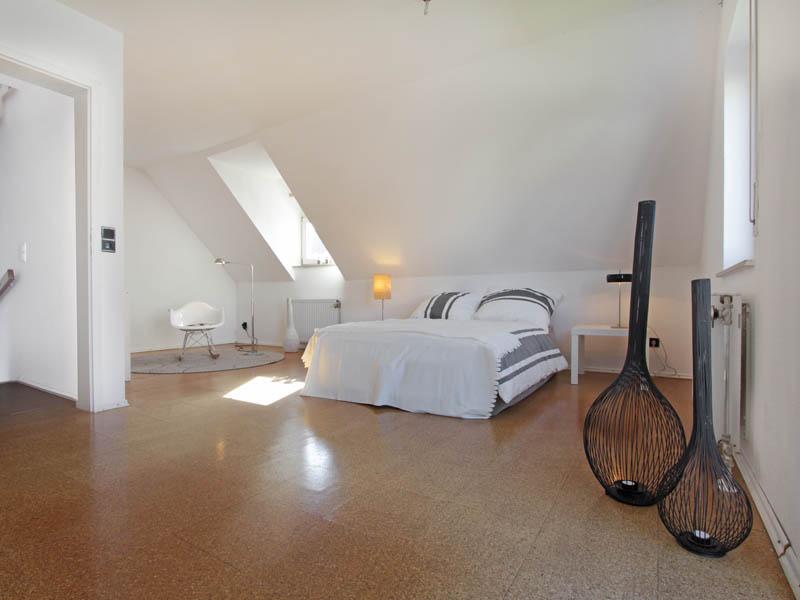Homestaging Doppelhaus Referenz Schlafbereich