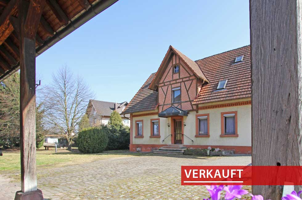 Referenzobjekt hystorischer Bauernhof Bohlsbach