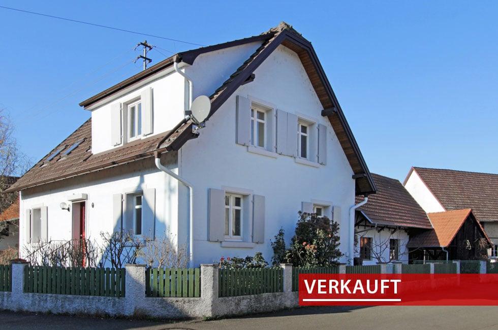 Referenzobjekt verkauft Einfamilienhaus in Altenheim