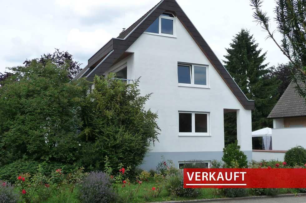 Referenzobjekt Einfamilienhaus in Goldscheuer