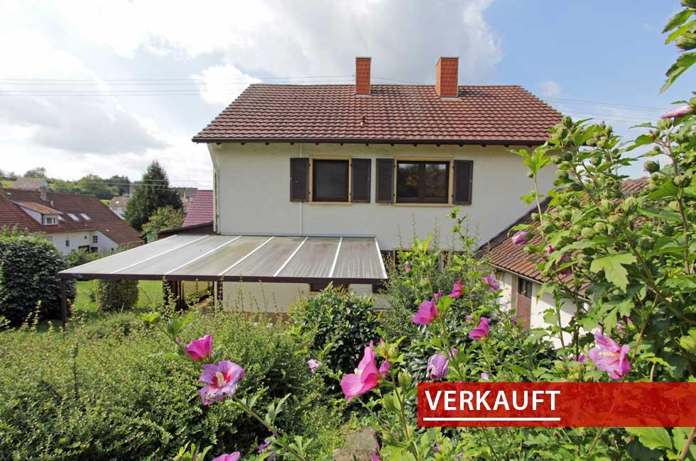 Referenzobjekt Einfamilienhaus in Hofweier