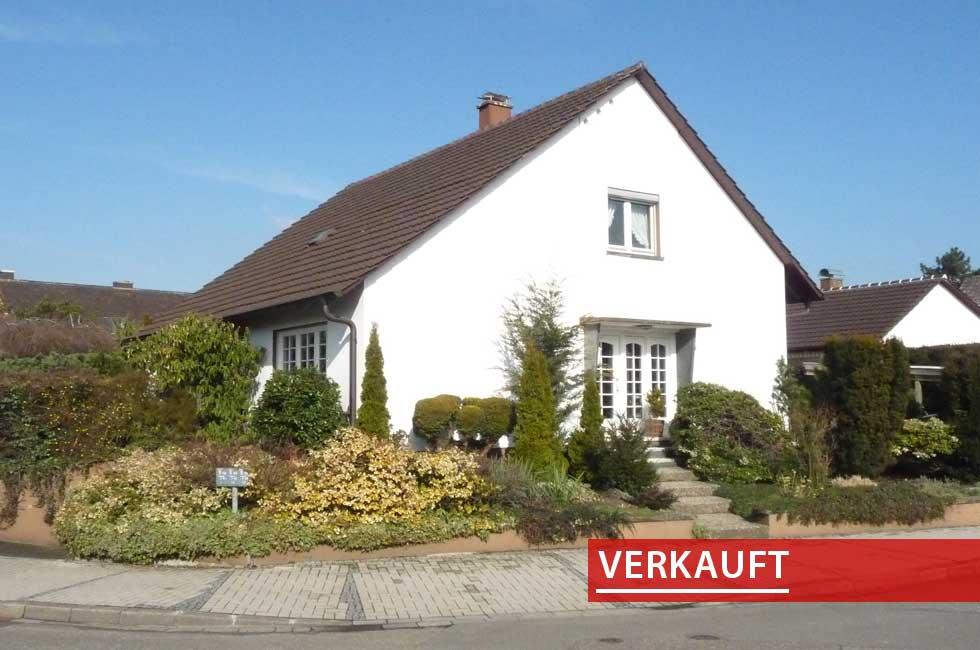 Referenzobjekt Einfamilienhaus in Kehl Sundheim