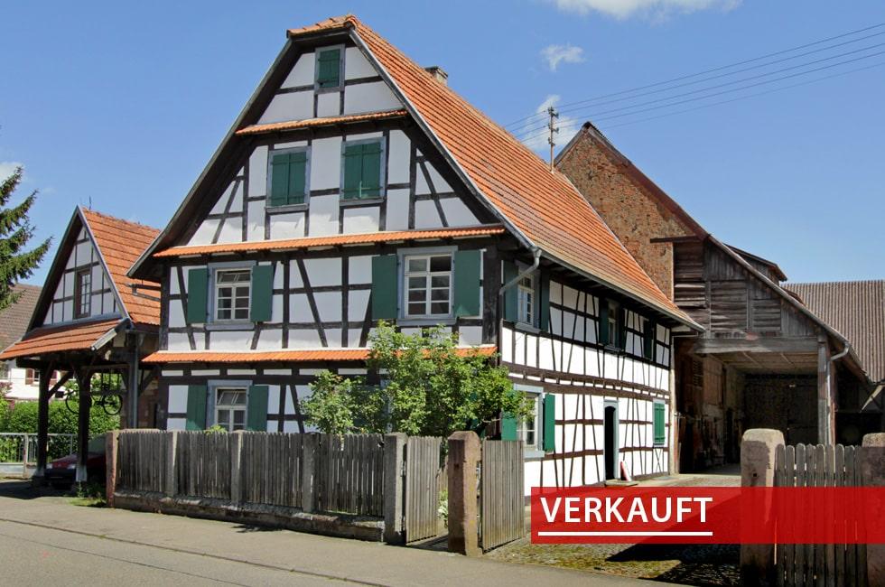 Referenzobjekt Fachwerkhaus in Ichenheim