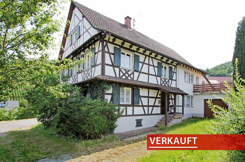 Referenzobjekt Fachwerkhaus in Zellweierbach
