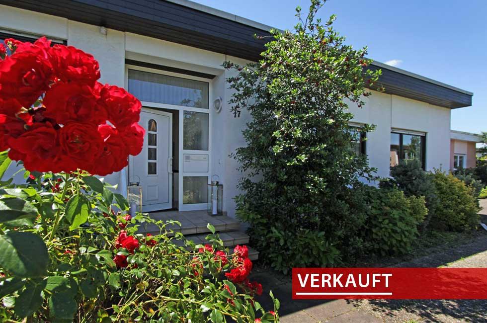 Referenzobjekt Flachdachbungalow in Schutterwald