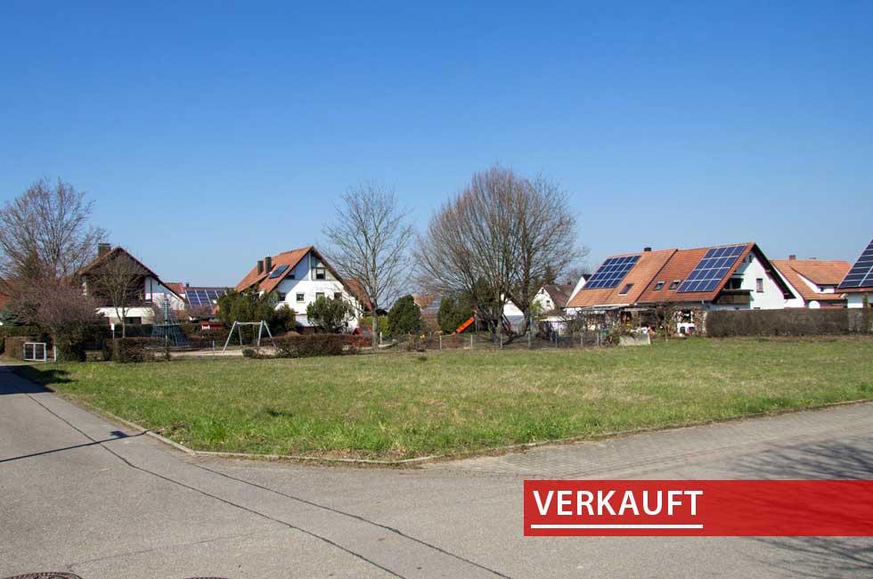 Referenzobjekt Baugrundstueck in Zunsweier