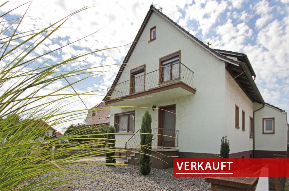 Referenzobjekt großes Wohnhaus Altenheim