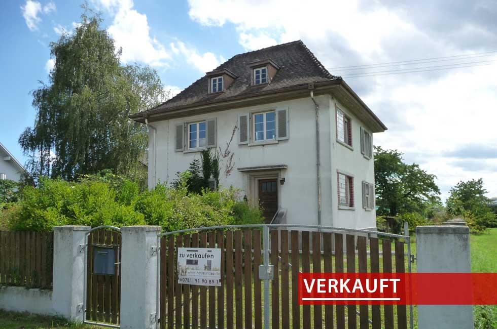 Referenzobjekt kleine Villa in Lahr