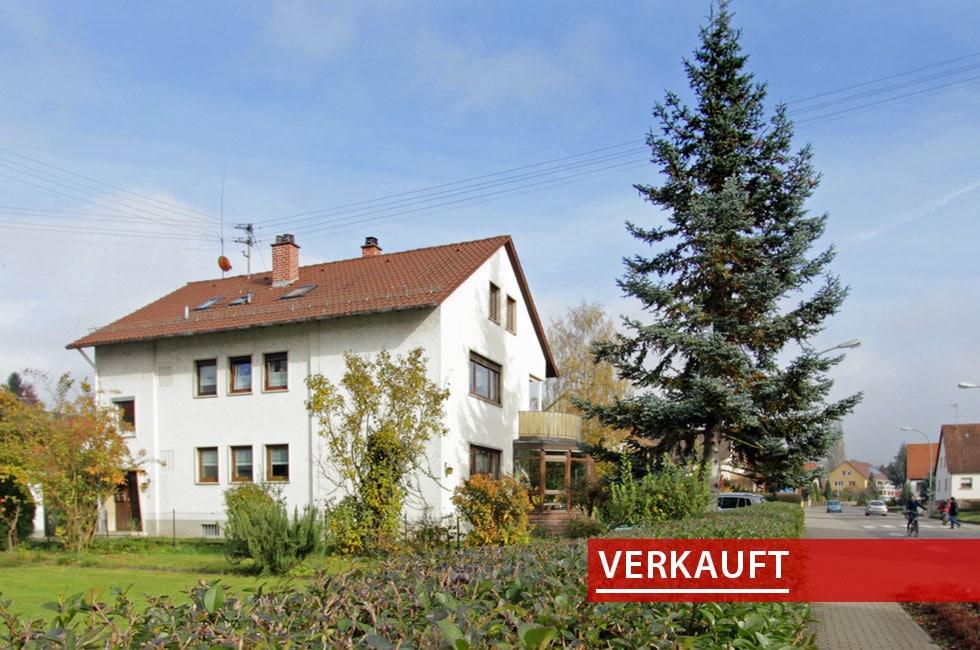 Referenzobjekt ein Mehrfamilienhaus in Zellweierbach
