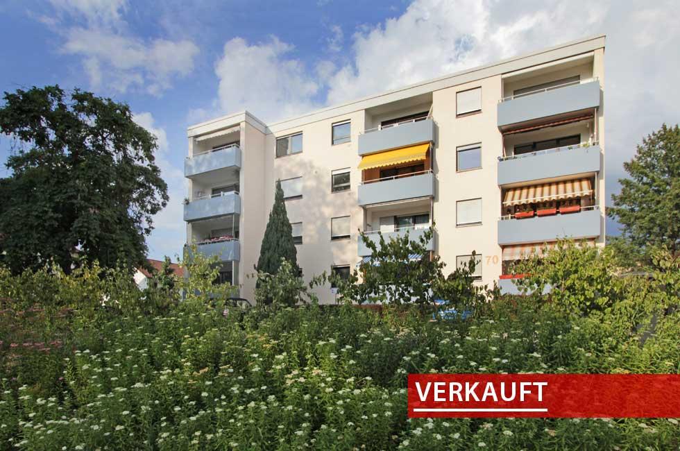 Referenzobjekt Wohnung in Offenburg am Park