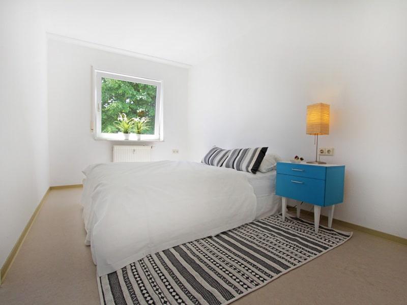 Homestaging Projekt Wohnung Schlafzimmer
