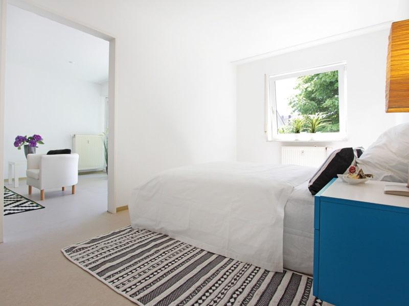 Homestaging Projekt Wohnung Schlafzimmer 2