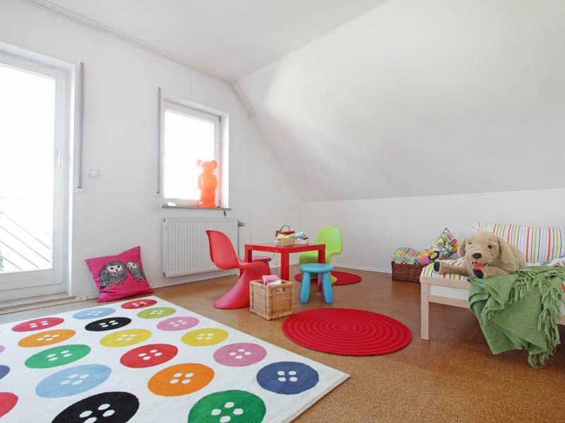 Homestaging Referenz Doppelhaus Kinderzimmer