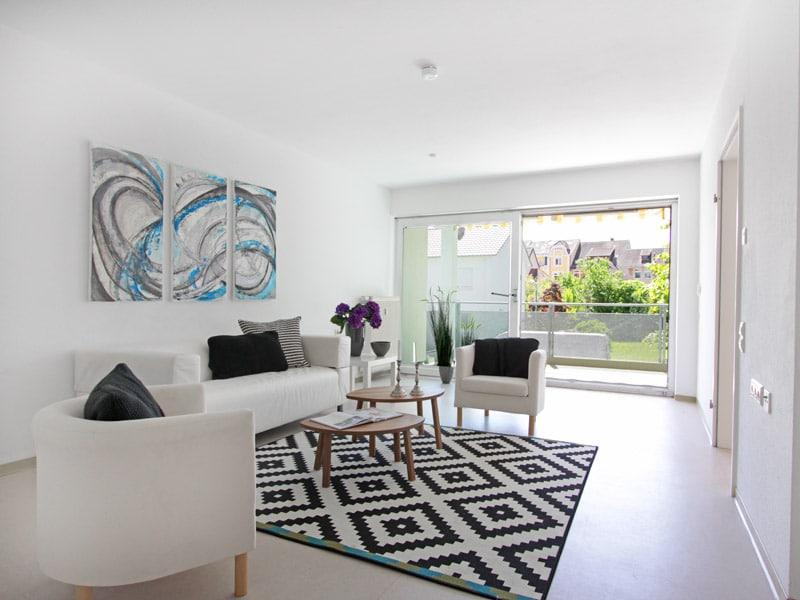 Homestaging Projekt Wohnung in Offenburg
