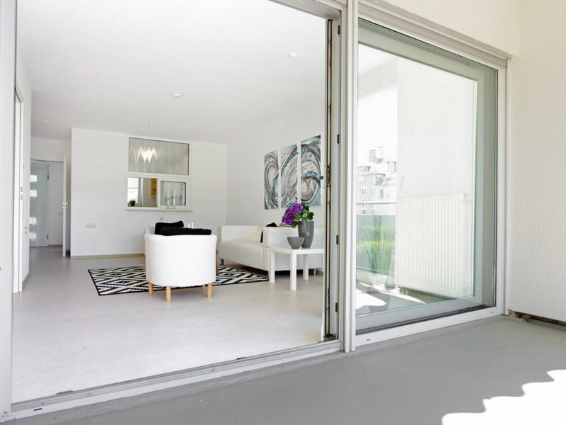 Homestaging Projekt Wohnung blick Zimmer