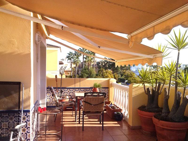 Penthousewohnung Spanien Terrasse