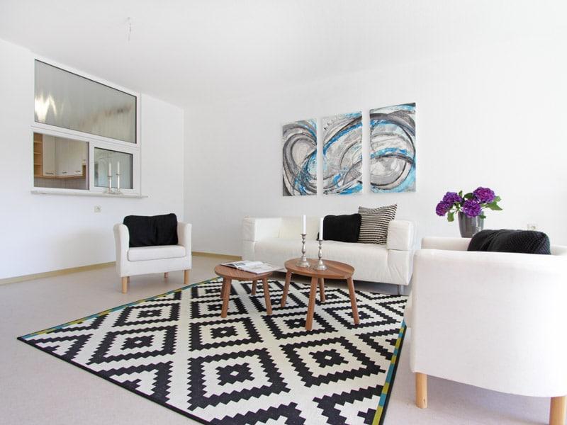 Homestaging Projekt Wohnung Akzente setzten
