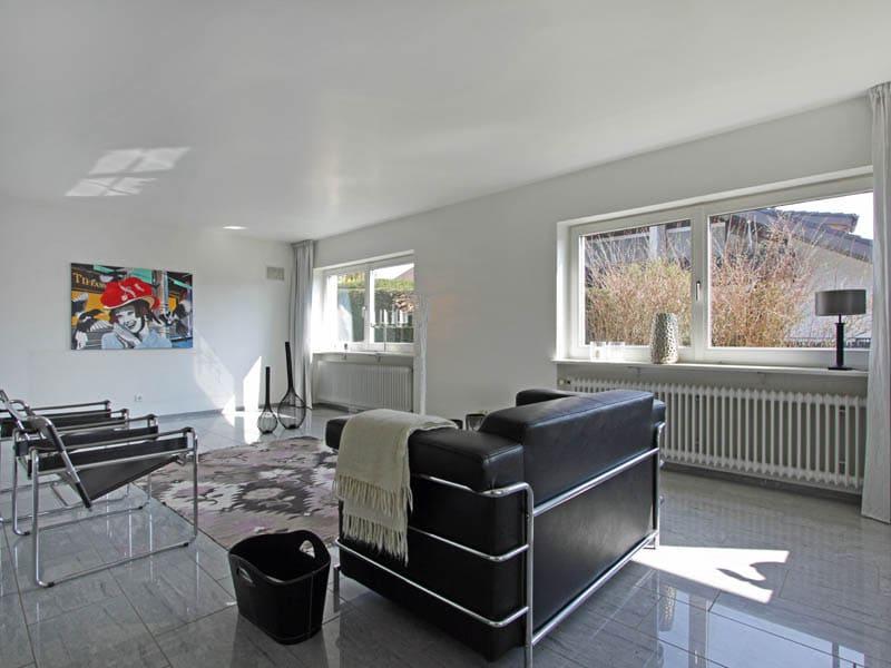Homestaging Referenzobjekt Wohnzimmer Einrichtung