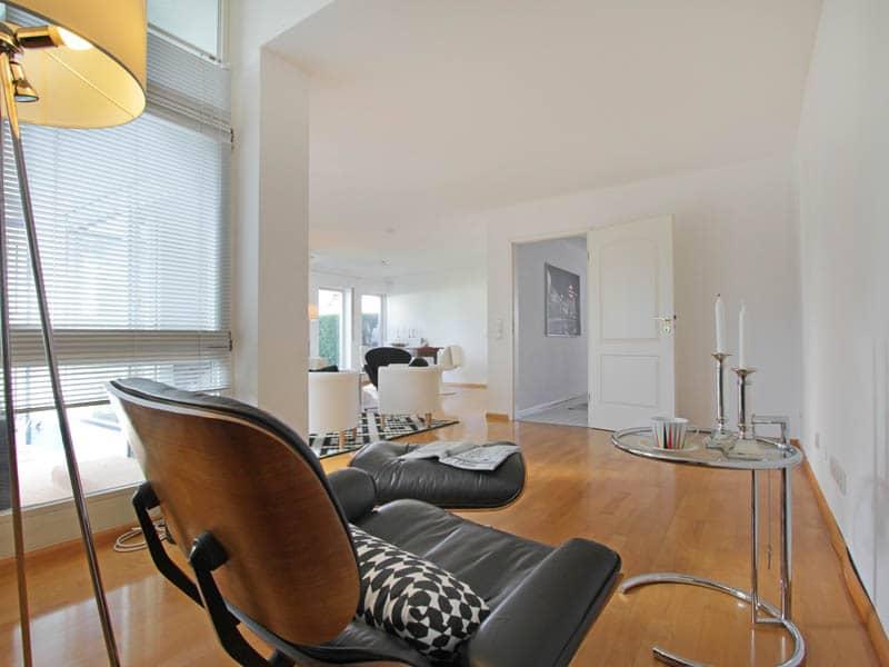 Homestaging Referenz Doppelhaus Leseecke 2