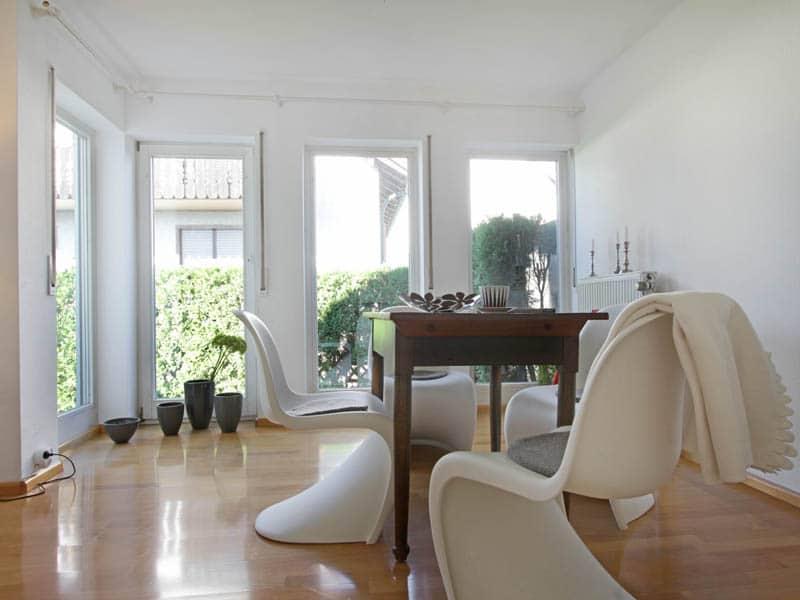 Homestaging Referenz Doppelhaus Essbereich