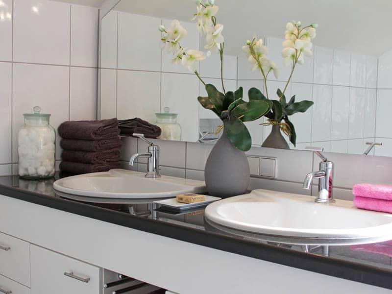 Homestaging Referenzobjekt Badezimmer Detailaufnahme