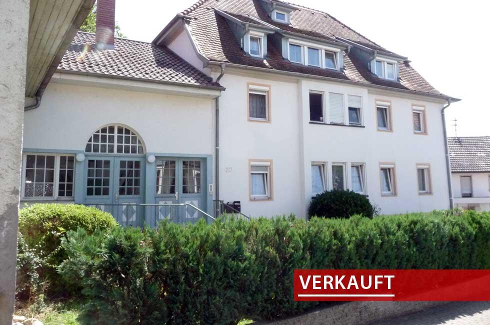 Referenzobjekt Mehrfamilienhaus Hofweier mit Geschichte
