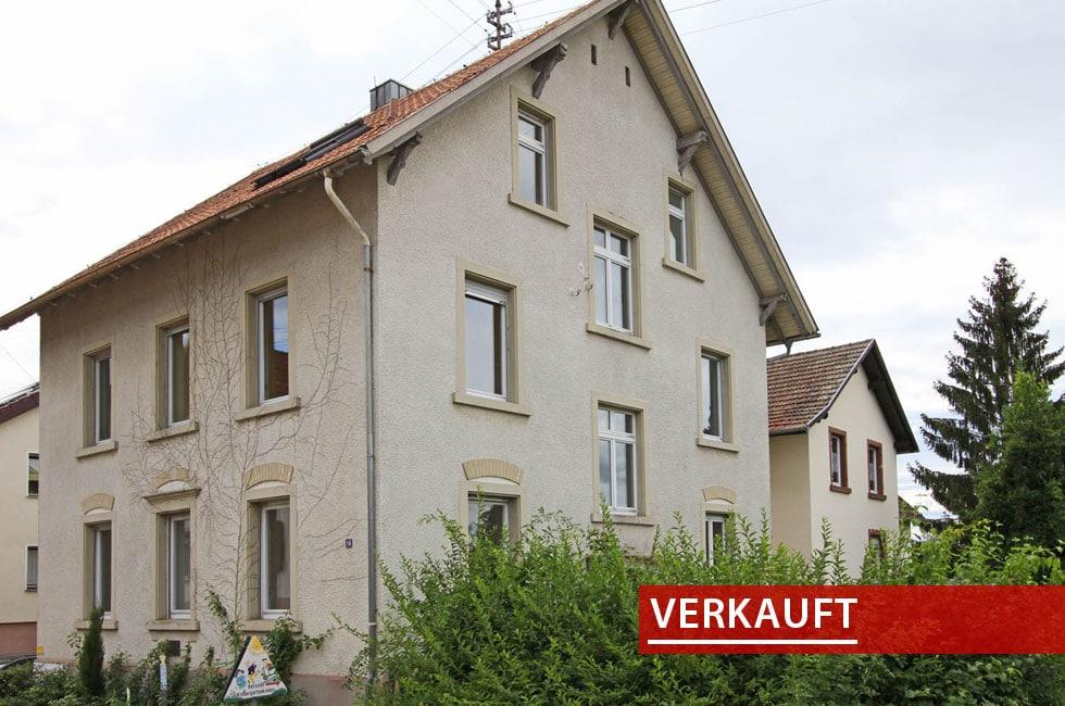 Referenzobjekt Mehrfamilienhaus in Zellweierbach