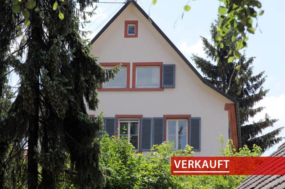 Referenzobjekt ehemaliges Pfarrhaus in Zunsweier