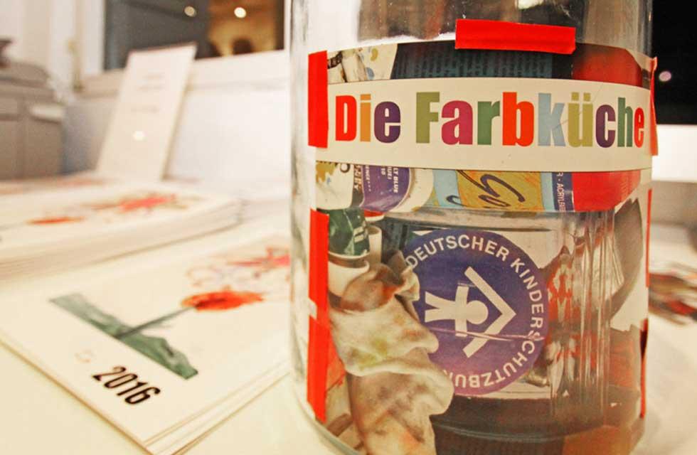 Charity Ausstellung Die Farbküche