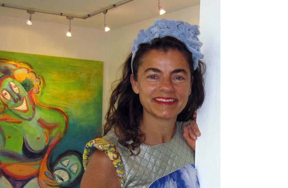 Ausstellung Ute Faber bei hausundso Galerie 2012