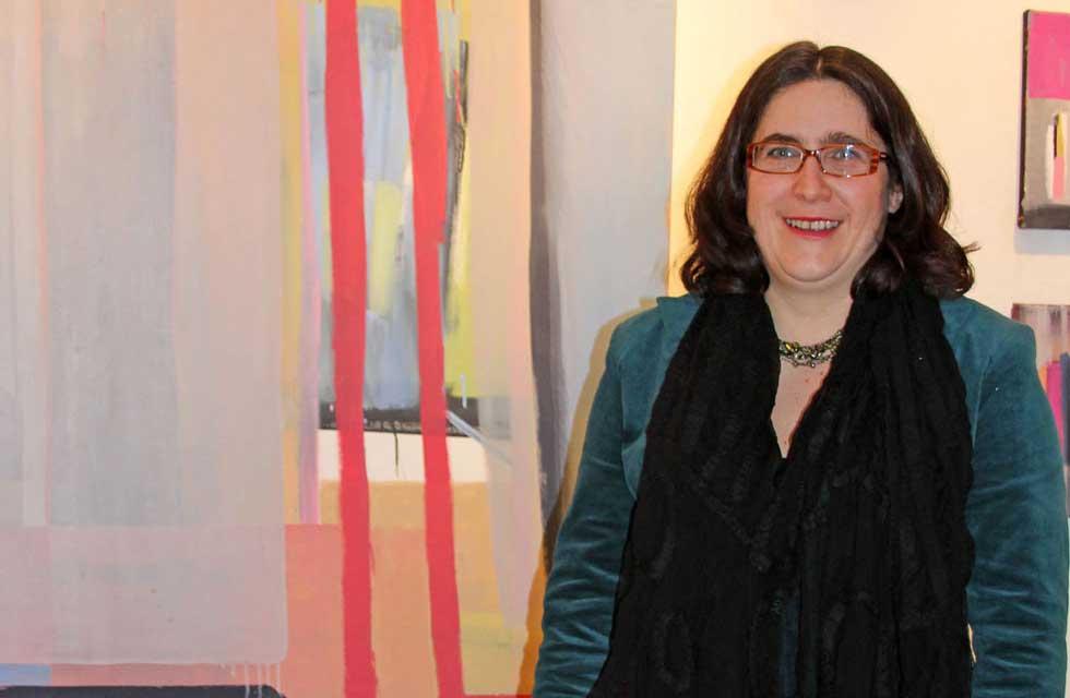 Ausstellung Elke Zauner bei hausundso Galerie