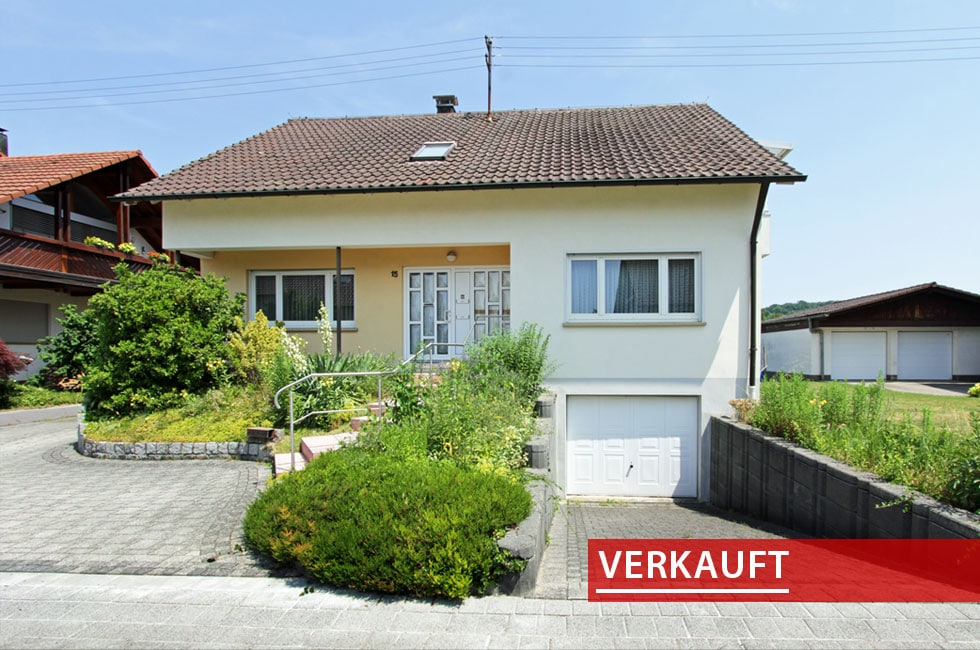 Einfamilienhaus Hofweier verkauft