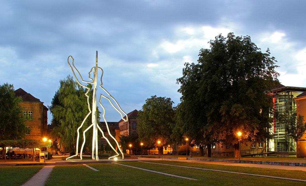 Wir in der Ortenau - Borofsky Skulptur