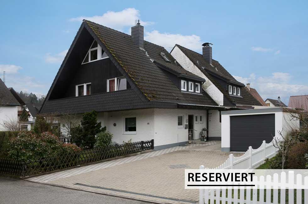 Doppelhaushälfte in Zell am Harmersbach reserviert